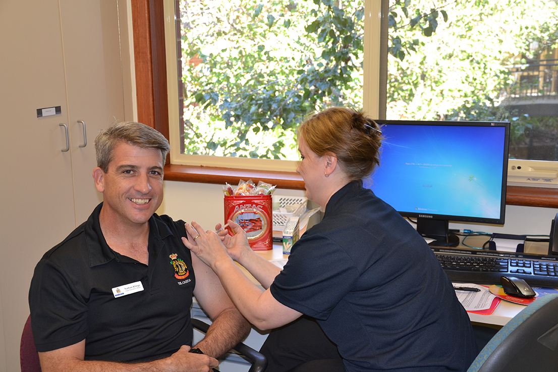 Free flu vaccinations for RSL Care SA employees